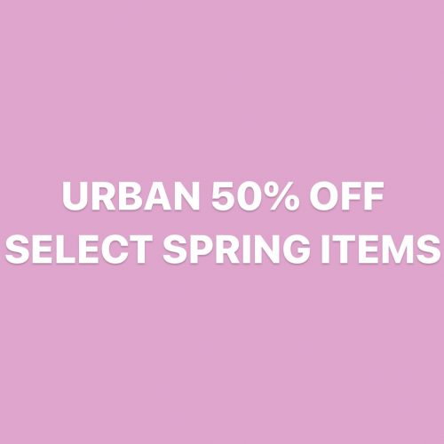 50% OFF URBAN SELECTS