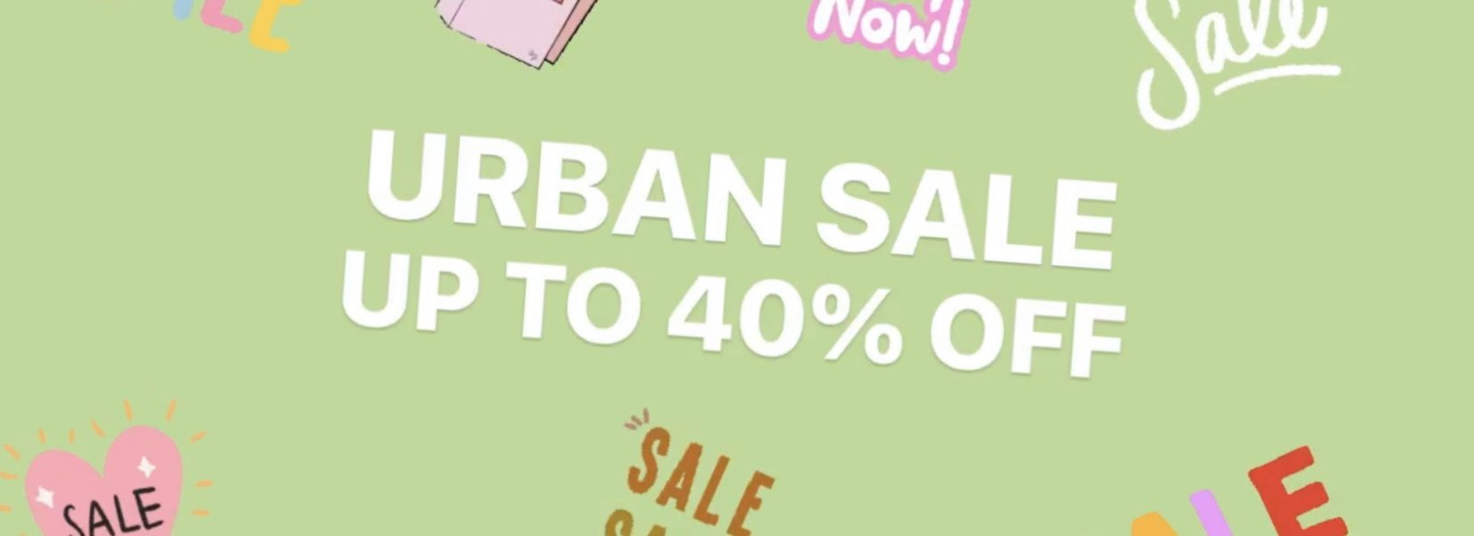 URBAN OUTFITTERS SALE! Up to 40% off!