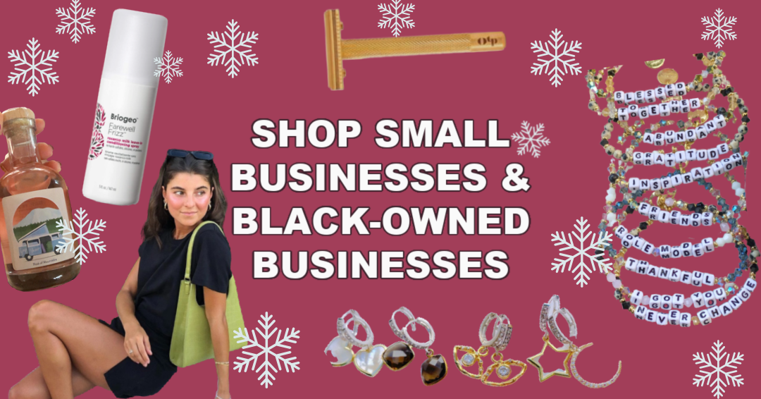 Small Businesses and Black Owned Businesses to Support this Holiday Season